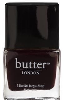 butter LONDON - Deep, Dark Red Nail Polish – La Moss Love butter nailpolish