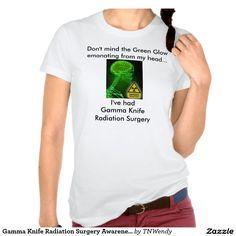Gamma Knife Radiation Surgery Awareness Tshirt