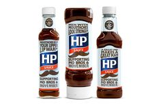 :-D  HP Sauce - Movember2012 - The Dieline
