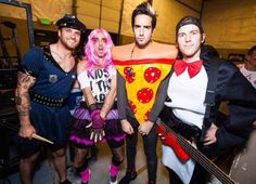 I'm going to start showing people this picture when they ask who All Time Low is