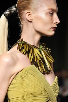 Image result for donna karan leather bead necklaces