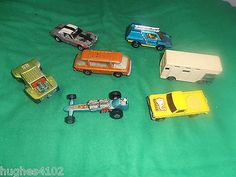 7 Assorted Matchbox Lesney Superfast 1970's For Spares Or Repair - http://www.matchbox-lesney.com/?p=6320