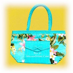 NaRaYa Turquoise Hand Bag, RM83.00
