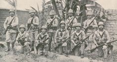 Portuguese Marines in Angola 1915