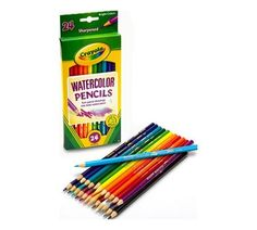 Kids and adult colorists can use these watercolor pencils to turn pencil drawings into watercolor art. This 24 count coloring set has bright colors that enhance your artwork. Shop now! Watercolor Effects, Watercolor Paper, Watercolor Paintings, Painting Art, Watercolor Flowers, Adult Coloring, Coloring Books, Coloring Pages, Coloring Tips