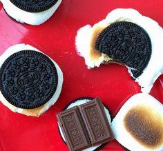S'Oreos: Oreos, marshmallows and chocolate