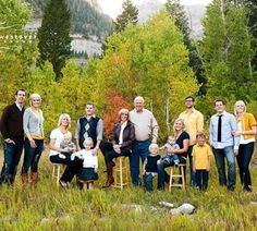 color matching for large family photo shoot