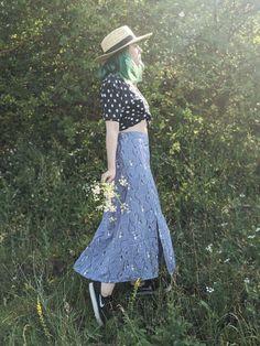 Green Hair, Lace Skirt, Archive, Skirts, Fashion, Moda, Fashion Styles, Skirt