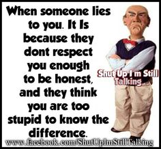 Some people lie Quote.