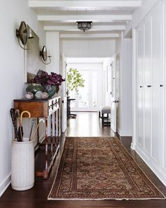 How do you renovate your home when the very things you love about it are what's old? As owners of a classic California ranch discovered, a fresh coat of just the right white paint and a smart selection of patterns and textures can highlight the original design while creating a look that's totally new and stylish.