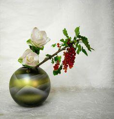 ikebana - Turmeric, Gooseberry