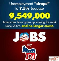 Unemployment - Have you given up?