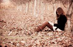 Jesienią też czytacie książki na zewnątrz?:)