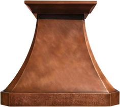 """Custom Copper Hood """"Vaughan"""" Model Vaughan can be used for a gas or electric range in any high ceiling kitchen to add traditional flavor. #mycustommade"""