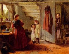 Victorian British Painting: William Henry... Hide & seek
