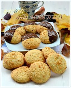 Biscotti Biscuits, Biscotti Cookies, Galletas Cookies, Italian Cookies, Italian Desserts, Italian Recipes, Nutella, Baking Recipes, Cookie Recipes