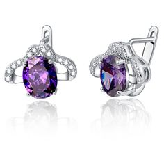 Find More Stud Earrings Information about 30% off Round Fashion Created Diamond Vintage Jewelry High Quality 925 Sterling Silver Earrings for Women Purple bijoux ULOVE746,High Quality earrings articles,China earrings blue Suppliers, Cheap earrings abalone from ULOVE Fashion Jewelry Official Store on Aliexpress.com