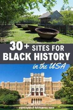 Because Black History is also US history, here are 30+ places where you can learn specifically about Black History in the United States from memorials to museums and historical sites. This is a great educational road trip for everyone. #USAtravel #history #BlackHistory Black History Museum, Us History, American History, Places To Travel, Travel Destinations, Civil Rights Museum, Family Road Trips, Travel Memories