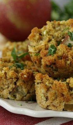 Stuffing Muffins - I Love this idea!