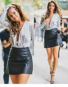 Barbara Palvin 8 Casual Outfits You Should Wear To Look Younger Mode Outfits, Sexy Outfits, Sexy Dresses, Fashion Outfits, Womens Fashion, Ladies Fashion, Girls Night Outfits, Disco Outfits, Casual Outfits For Girls