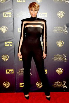 Daytime Emmys 2015 Best Dressed: See Tyra Banks' Edgy Take on the Jumpsuit Trend, Plus More Show-Stopping Red Carpet Styles!