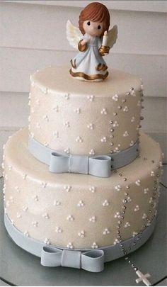 Fondant Cakes, Cupcake Cakes, Cupcakes, Christian Cakes, First Holy Communion Cake, Religious Cakes, Confirmation Cakes, Ballerina Cakes, Angel Cake