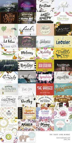 tipografías e imprimible molones para verano