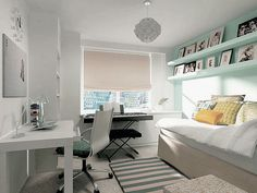modern combination between guest room music room and home office - Modern Home Office Guest Room