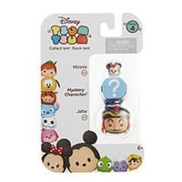 Disney Tsum Tsum Series 4 3 Pack Figures - Minnie, Mystery Figure and Jafar