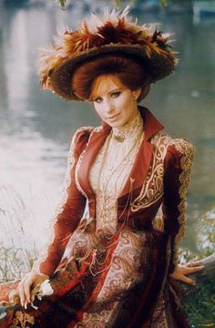 Barbra Streisand as the incomparable Dolly Levi 24 Avril, Rock And Roll, Hello Gorgeous, Beautiful, Barbra Streisand, Theater, Movie Costumes, Hello Dolly, Classic Movies