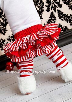 Foofy bum christmas skirt! Yipee