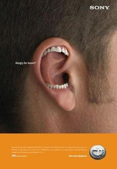 SONY: Creative Advertisements From Notable Brands | repinned by www.drukwerkdeal.nl