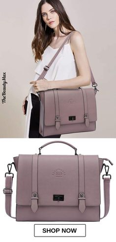 Stylish Women's Laptop Shoulder/Messenger/Satchel Bag/Briefcase (purple) for Office/Work, College/School, Travel, Business, etc. Source by thebeautymax bags Briefcase Women, Laptop Briefcase, Laptop Backpack, Satchel Bags For School, School Bags, Laptop Bag For Women, Stylish Laptop Bags, Office Bags For Women, Cool Messenger Bags
