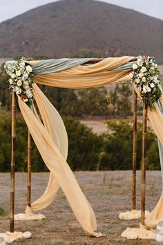 Drapes have a soft and romantic way with the heart as they blow so elegantly in the wind. Photo: Mirelle Carmichael Photography