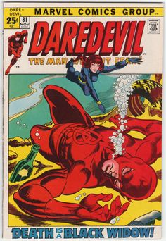 Daredevil #81 VF/NM-, Gene Colan interior artwork, 52 page issue, Begins Black Widow as co-star. Gil Kane cover art. $59