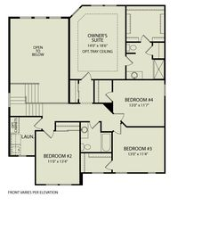 Plan Out The Interior Layout Of The WEMBLEY With The Interactive Floor Plans  Application By Drees Homes.