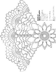 코바늘 레이스 도일리 free pattern by Anabelia