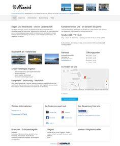 Bootswerft Männich AG,  Beinwil am See, Aargau, Bootsverkauf, Bootsvermietung, Bootsfahrschule