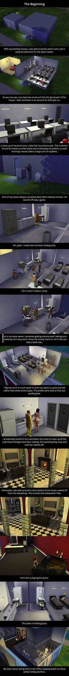 The Sims Sweatshop - 9GAG