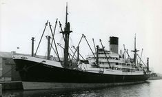 MV Achilles, a refrigerated cargo ship built by Vickers-Armstrong for Ocean Steam Ship Co(A.Holt & Co) & completed 10/57. 7,794grt, 492ft long, 62.4ft beam & 28.5ft draught. Powered by a 6 cylinder B&W 2SCSA oil engine(built  by JG Kincaid & Co, Glasgow) giving 8000bhp to a single screw to give 15knots. '72 to Glen Line & renamed Dardanus. Same year sold to Nan Yang Shipping Macao, registered in Mogadishu & renamed Kiago. Sold agian in '80. Scrapped in 82