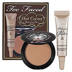 Too Faced - Hot Cocoa Collection  #sephora it also smells like cho cho