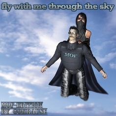 Fly With Me Through The Sky I'll protect you! EDM-Experiment MOF-Edition by GoKrause