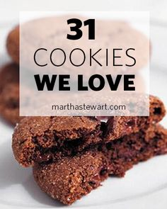 31 Cookie Recipes We LOVE