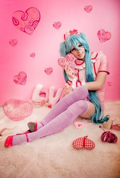 Miku hatsune cosplay by Kawaielli on DeviantArt
