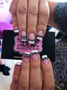 Ideas nails art sencillo 2018 for 2019 Almond Acrylic Nails, Almond Nails, Stiletto Nails, Toe Nails, Red Smokey Eye, Manicure Y Pedicure, Purple Art, Toe Nail Designs, Super Nails