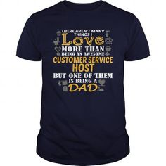 Awesome Tee For Customer Service Host T-Shirts, Hoodies (22.99$ ==► Order Here!)