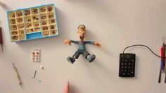 how to make a puppet for stop motion animation. Great clip but it's not quite 100% what I want as it would be not what the kids could quite do.