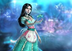 Alice Wonders under the Sea by Halli-well on deviantART
