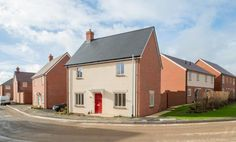 new build 3 bed semi houses exterior - Google Search New Builds, Building A House, Shed, Exterior, Houses, Outdoor Structures, Mansions, Google Search, House Styles