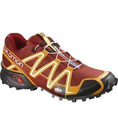 Las zapatilla de trail running Salomon Speedcross 3 tienen la  suela contragrip para aportar estabilidad y protección. http://www.shedmarks.es/zapatillas-trail-running-hombre/2855-zapatillas-salomon-speedcross-3-hombre.html